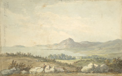 View of Lord Penryn's and Penmaen Mawr From Bangor